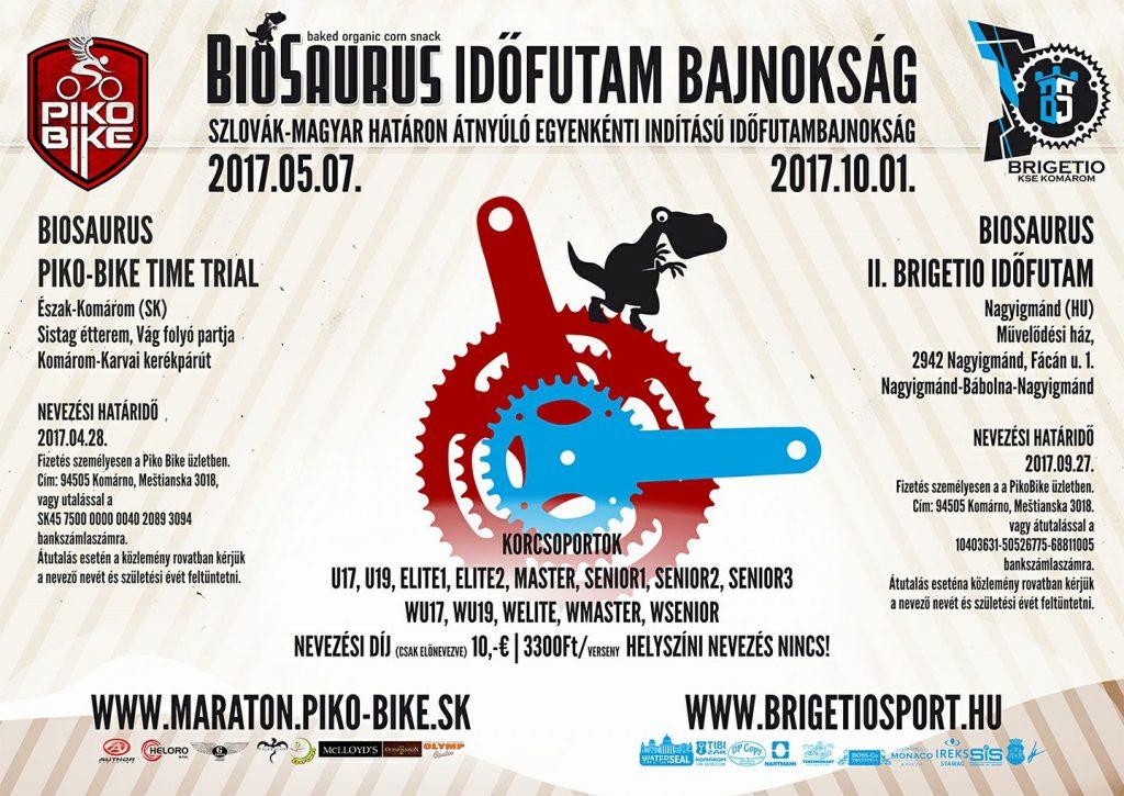 Biosaurus időfutam bajnokság