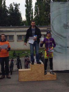 Moravek Lajos, a 80km-es táv abszolút győztese